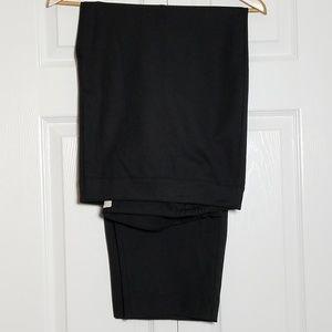 Talbots Woman Chatham Ankle Pants Black Size 26W